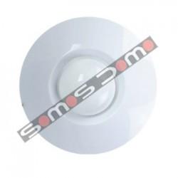 Detector PIR cableado de techo con alcance 360 º y 12 m. Inmune a mascotas hasta 25 kg