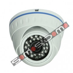 Cámara de seguridad domo CMOS 700 líneas Blanca