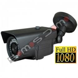 Cámara de Seguridad Bullet Panasonic HD-SDI Full-HD 1080p. IR 60 m. Gris