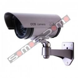 Camara de vigilancia simulada no operativa apta para exteriores.