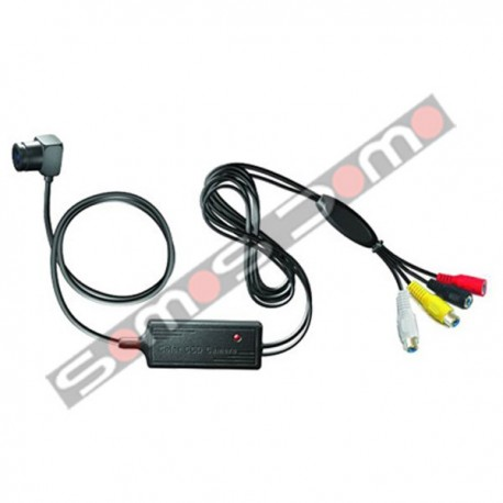 Cámara ultraminiatura, baja luminosidad, con micrófono incorporado Sony 520 líneas