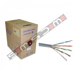 Bobina ( caja ) de 305m cable FTP CAT5e rígido apantallado