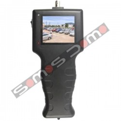 "Sencillo comprobador CCTV de vídeo con pantalla 2.5"" TFT LCD."