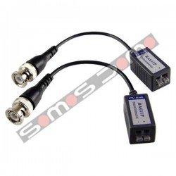 Transceptor pasivo de vídeo (balun), incluye transmisor y receptor
