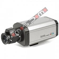 Cámara Box Color Sony 540 líneas, soporte y lente varifocal 3,5 a 8 mm