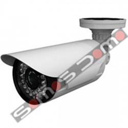 Cámara de vigilancia 1/3 Sony 1000 líneas varifocal. 60 m IR