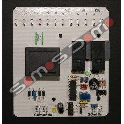 Circuito impreso para central de aspiración automática