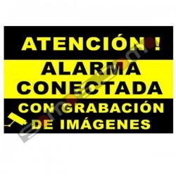 carteles de alarma. Cartel de alarma