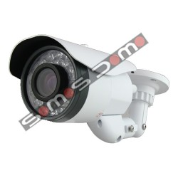 Cámara de vigilancia compacta varifocal de largo alcance Sony CCD 1080P