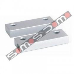 Contacto mágnetico cableado puerta / ventana . Metálico. Alta sensibilidad