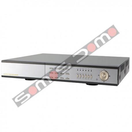 Videograbador IP 3G, 8 canales vídeo y 4 audio, HDMI 1080p