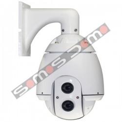 Camara domo motorizada de Alta Velocidad Zoom 27X Samsung 560 líneas
