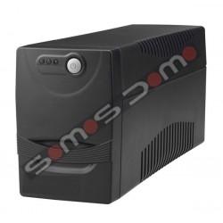 SAI 700 VA.2 enchufes Regulador voltaje, protección voz / datos , software, USB, rearmado autom.