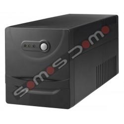 SAI 1100 VA.4 enchufes Regulador voltaje, protección voz / datos , software, USB, rearmado autom.