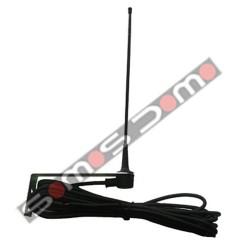Antena con cable y soporte