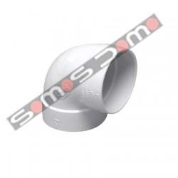 Codo de 90 H-H PVC aspiracion centralizada